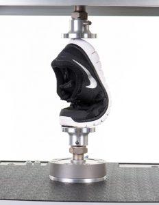 Prescott Instruments Dynamic Mechanical Analyser DMA Nike Shoe Close Up