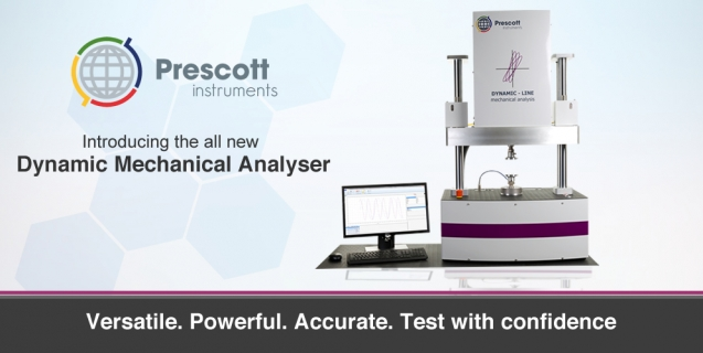 Introducing Prescott Instruments Dynamic Mechanical Analyser