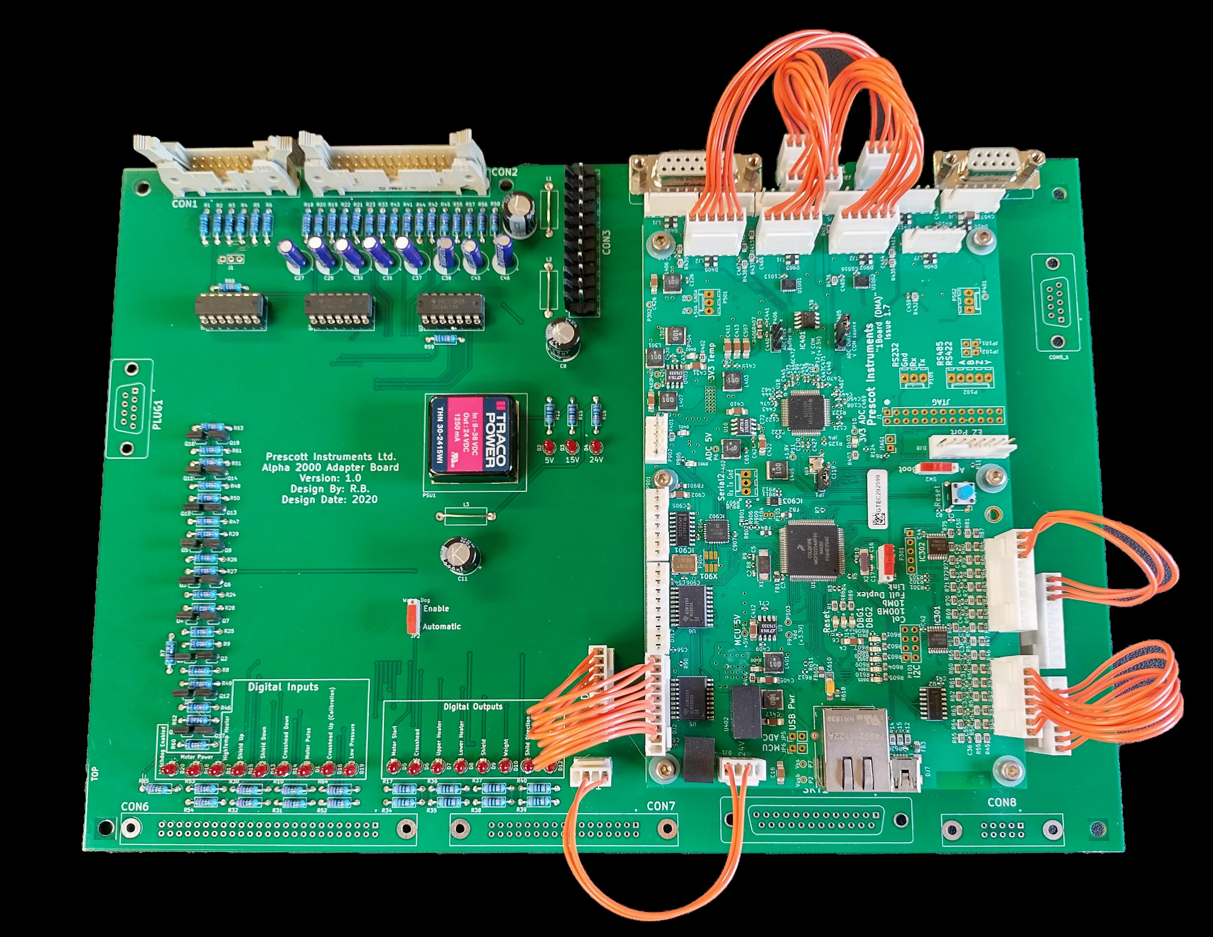 Prescott Instruments Intelligent Board Upgrade